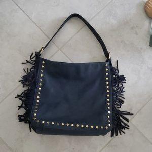 Handbags - Studded large stud/fringe bag NWOT